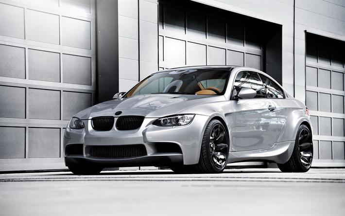 Download Wallpapers Bmw M3 E92 German Cars Tuning Silver M3 Coupe Bmw Besthqwallpapers Com Bmw M3 Coupe Bmw M3 Bmw Wheels
