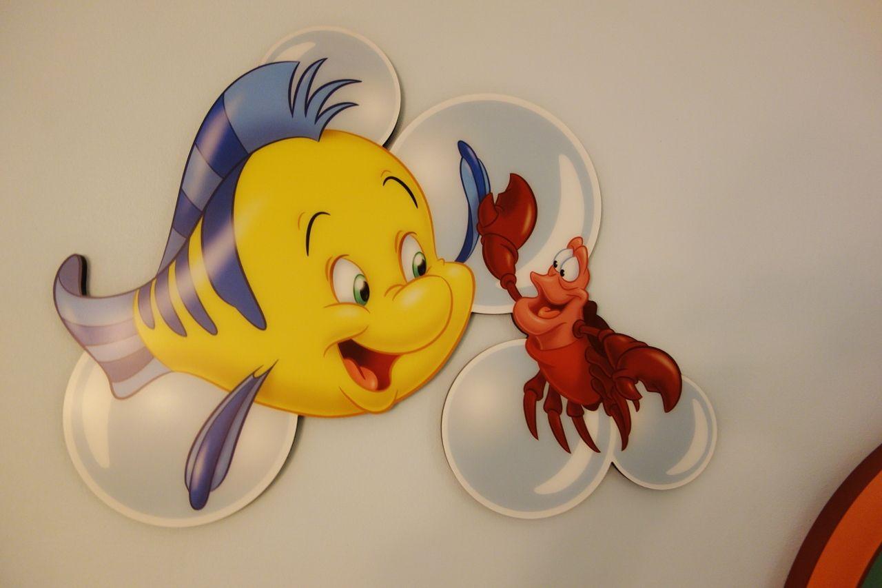 Little mermaid flounder and sebastian little mermaid