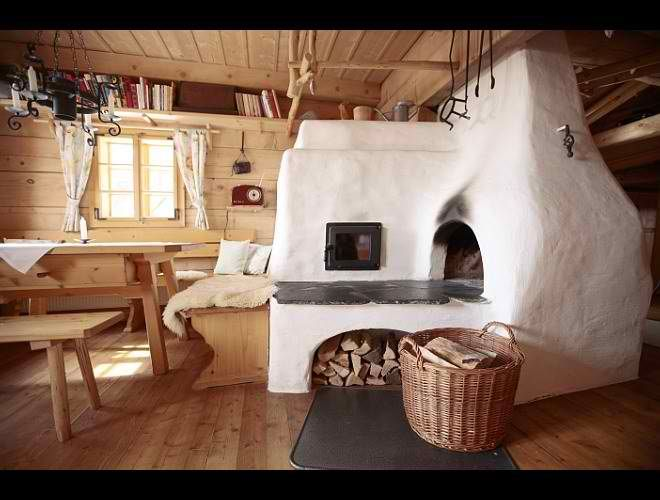 Dream Traditional Huts in Austria | Interiors, Kitchens and Internal