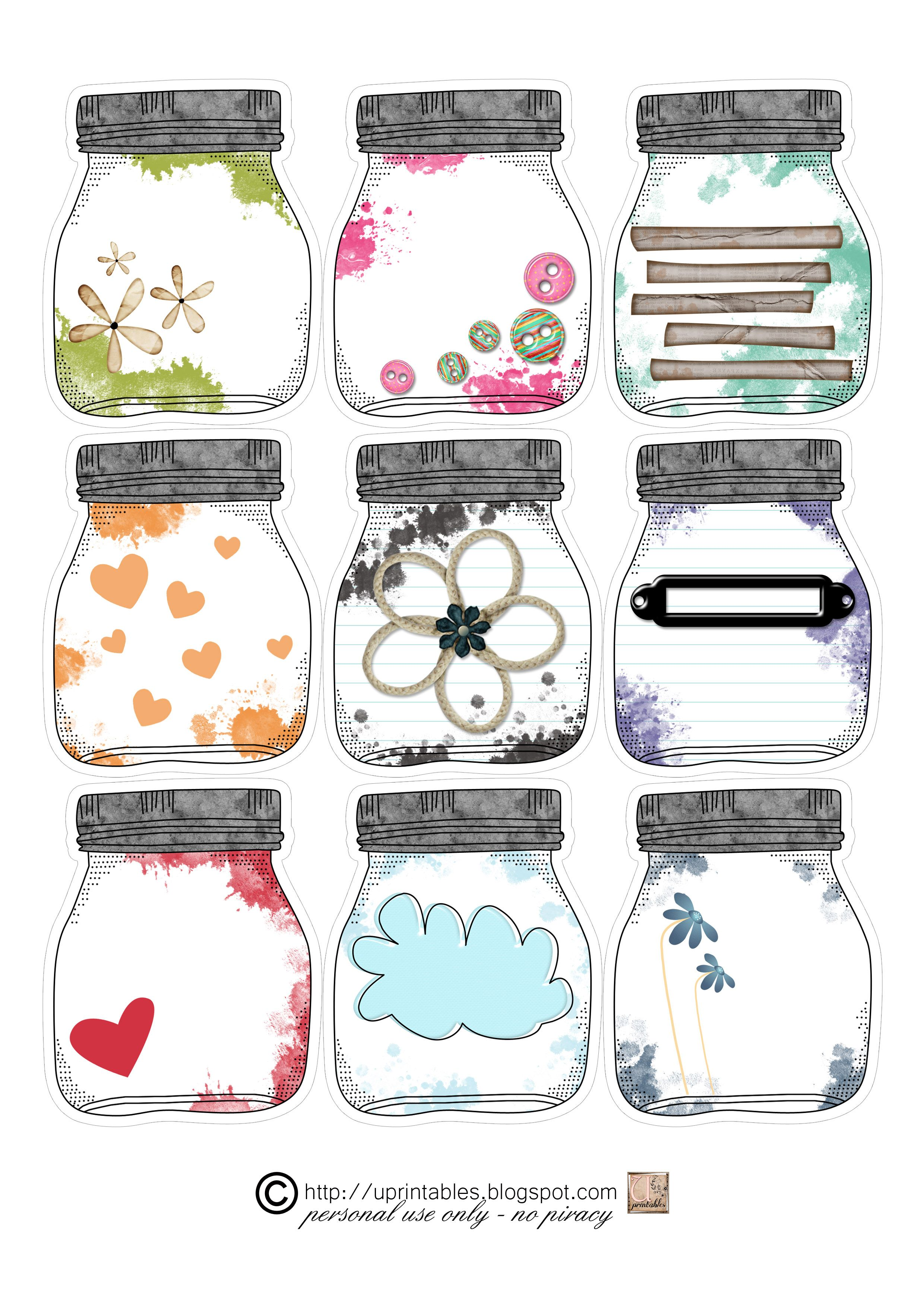 more mason jars | embellishments / goodies | Pinterest | Bote ...