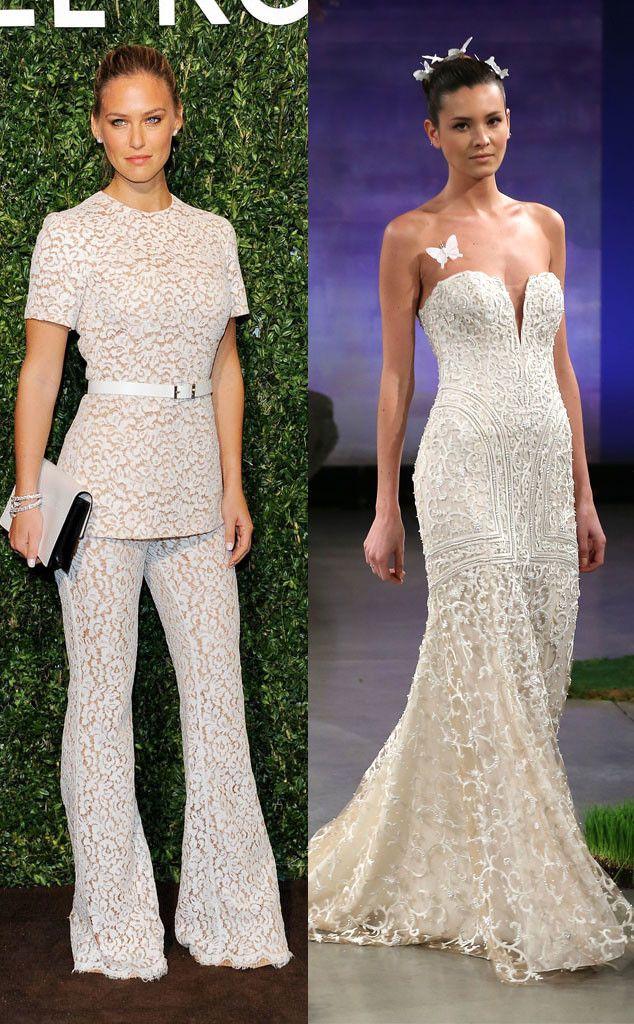 Bar Refaeli From Celeb Wedding Dress Predictions Wedding Dresses Dresses Gorgeous Wedding Dress