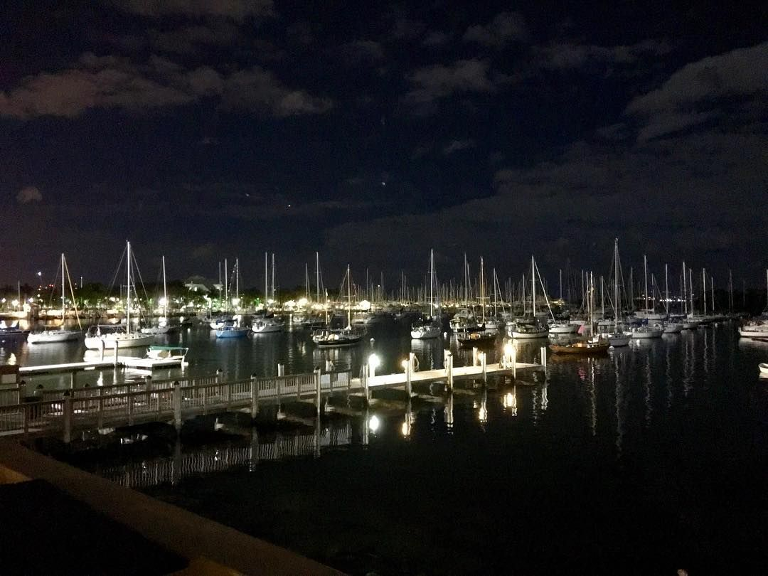 Sail Away!Sail Away!!! ....Last Nights View #smile #muse #miami #miamilife #coconut grove #sails #sailboat #pier #fullmoon #ocean #saltlife #juicyjones #granqueenzole #world #wishyouwerehere #wood #sky #night #stars #life #amor #flirt #florida #mexicana #singlelady #dock #lights  #loveinthedark #black #queen by juicyjones