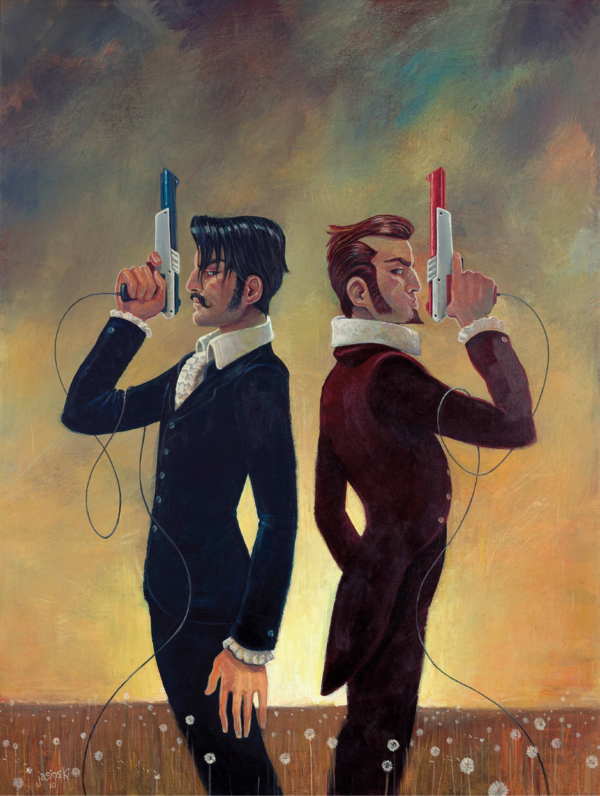The Duel by jasinski