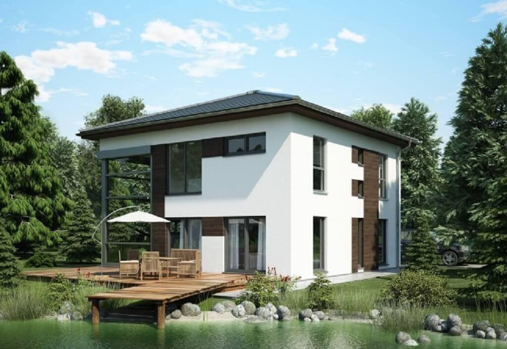 Moderne häuser zeltdach  Stadtvilla FN 98-98 B V6 - Bien Zenker | Zeltdach, Bien zenker und ...
