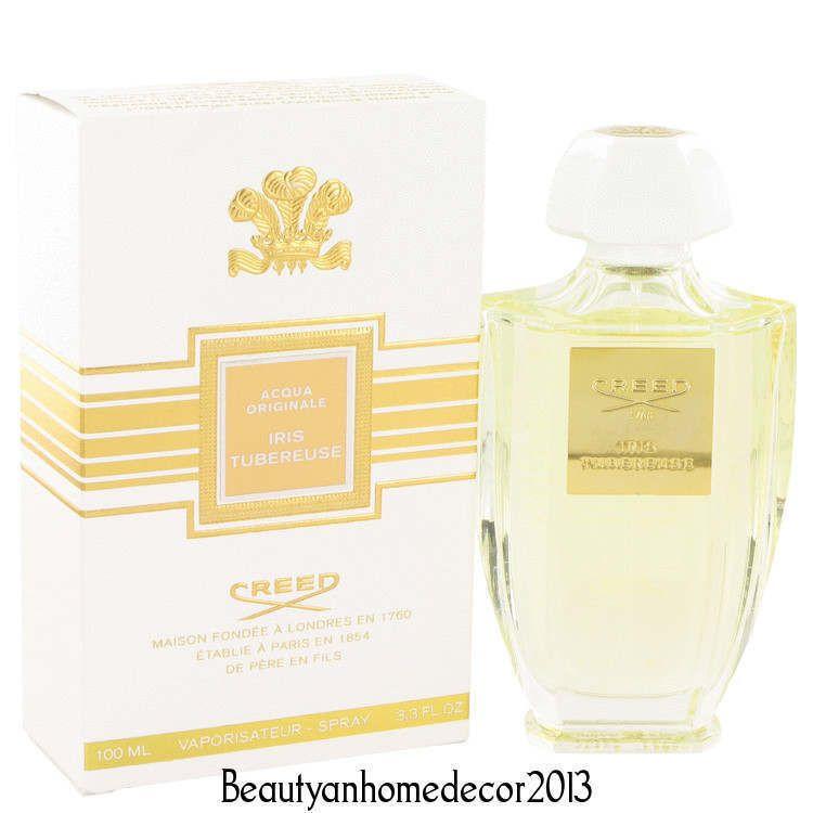 Iris Tubereuse By Creed 33 Oz 100 Ml Edp Spray Perfume For Women