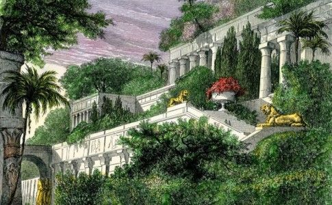 Pin su babilon garden for Architettura giardini