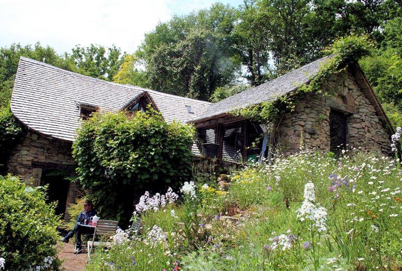 Visite privée de la maison verte de Gilles Clément - Le Point La ...