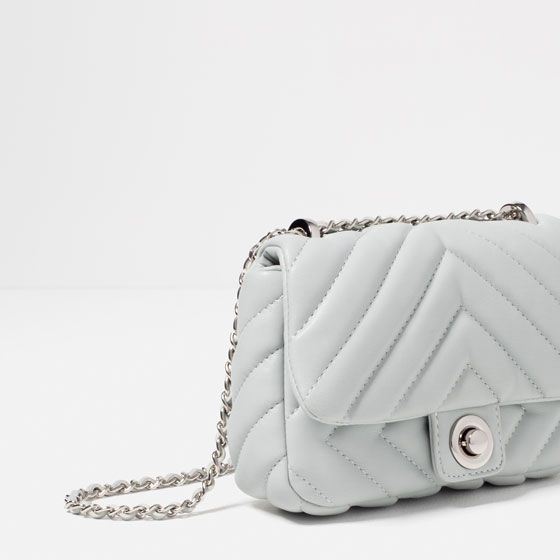 fc571985 Image 4 of QUILTED MINI CROSSBODY BAG from Zara | Dresses for ...