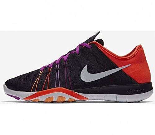 san francisco 7ab08 7dad0 Womens Nike Free TR 6 Training Shoe Purple Dynasty Total Crimson Purple  White Size 6.5 M US