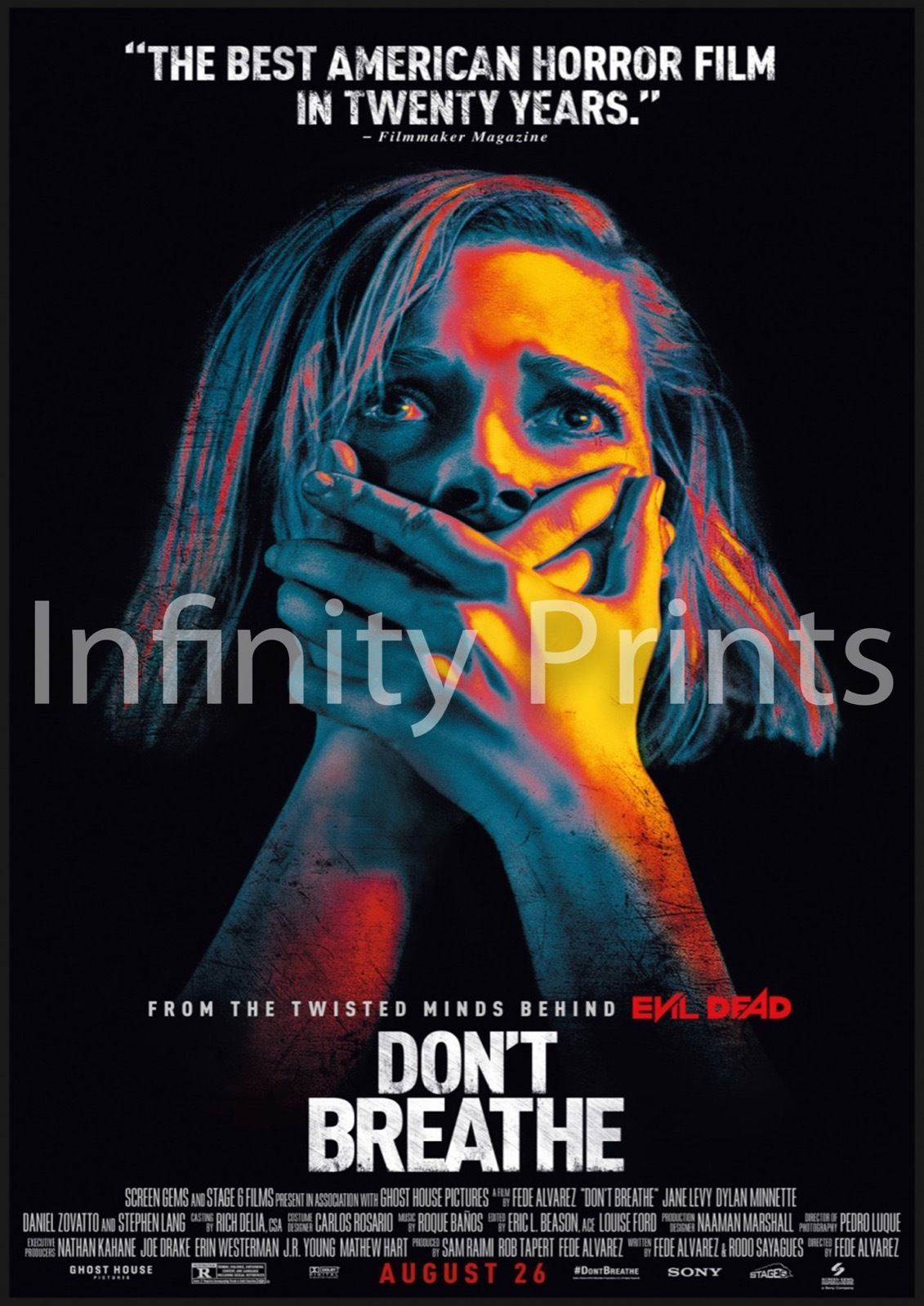 Don't Breathe Movie Film Poster A3 A4 | Dont breathe movie ...