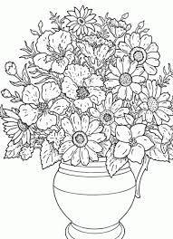 Imagenes De Flores Bonitas Para Colorear Dificiles Flores Para