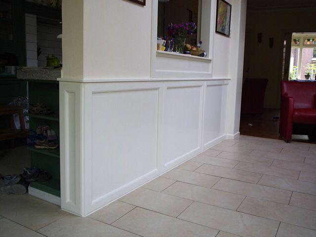 Lambrisering gang lambrisering pinterest lambrisering woonidee n en interieur - Deco gang huis ...