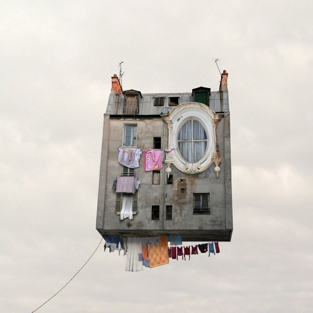 Flying Houses photographer Laurent Chehere
