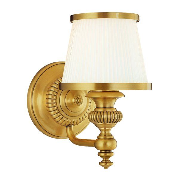 Petronella 1 Light Armed Sconce With Images Sconces