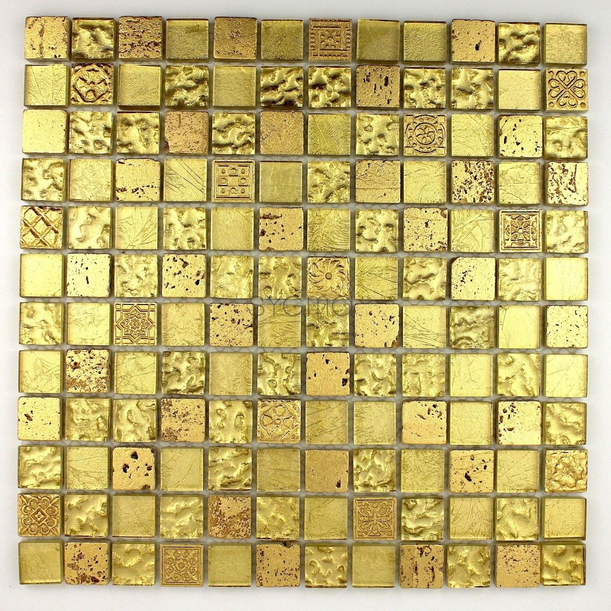 mosaic glass tile and stone mvp-met-gol - Sygma Group | Gold ...