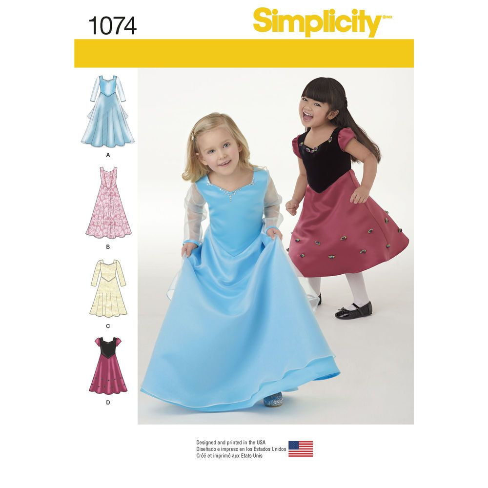 These fun princess-inspired party dresses for both toddlers\' and ...