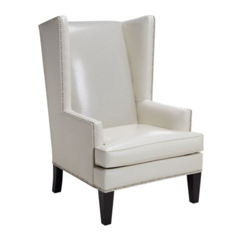Pebble Accent Chair White From Z Gallerie 799 Love This Chair
