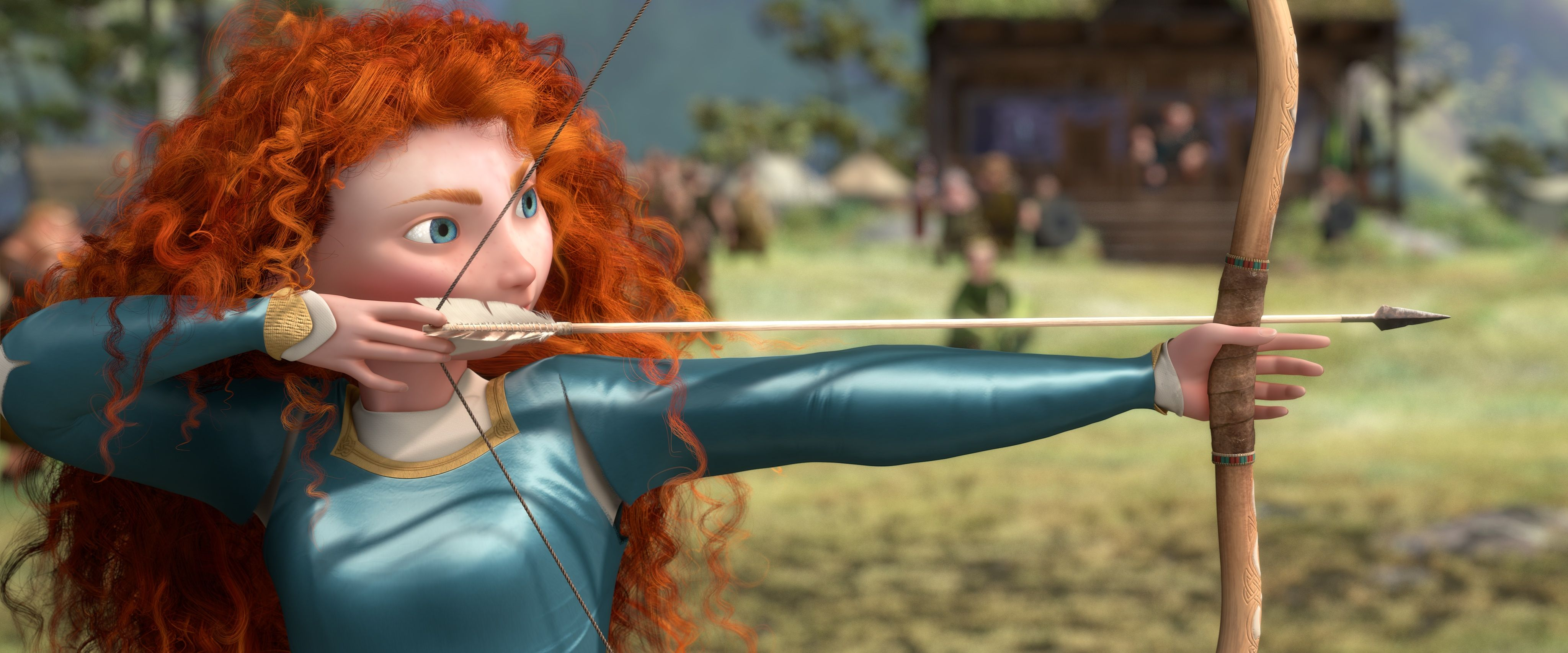 Image result for princess mia, archery