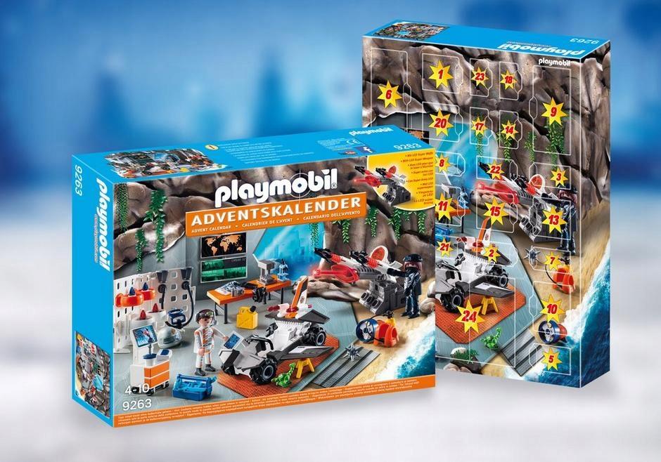 Kalendarz Adwentowy Baza Szpiegow Playmobil 9263 8562696626 Oficjalne Archiwum Allegro Toy Playset Playmobil Playmobil Toys