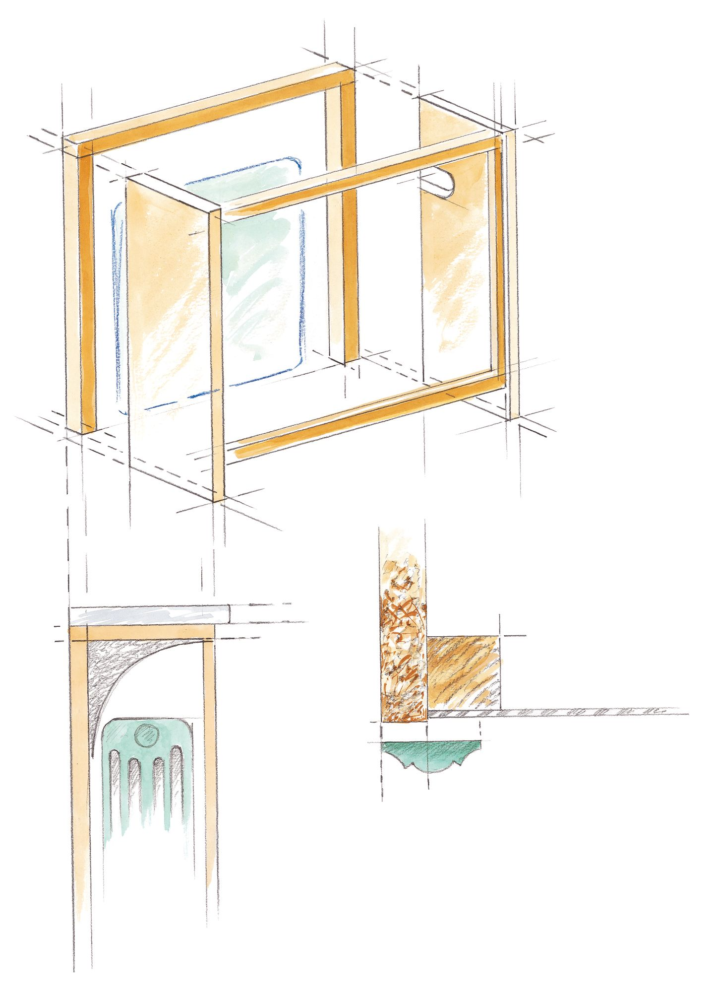 r aliser un cache radiateur en bois m6 imaginer mon. Black Bedroom Furniture Sets. Home Design Ideas