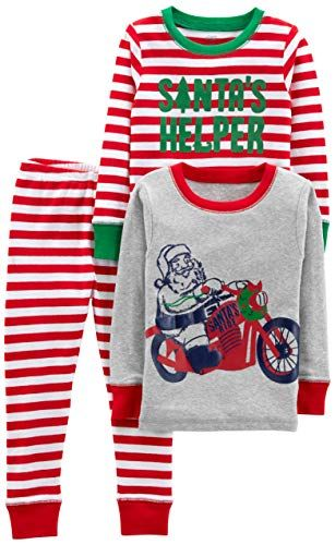 646ff77e1 Simple Joys by Carters Boys Little Kid 3-Piece Snug-Fit Cotton ...