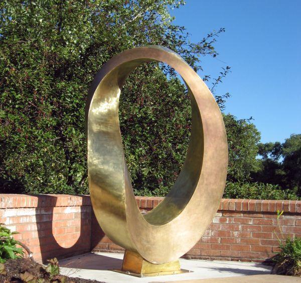 Large Modern Garden Sculptures: #Bronze #sculpture By #sculptor Plamen Yordanov Titled
