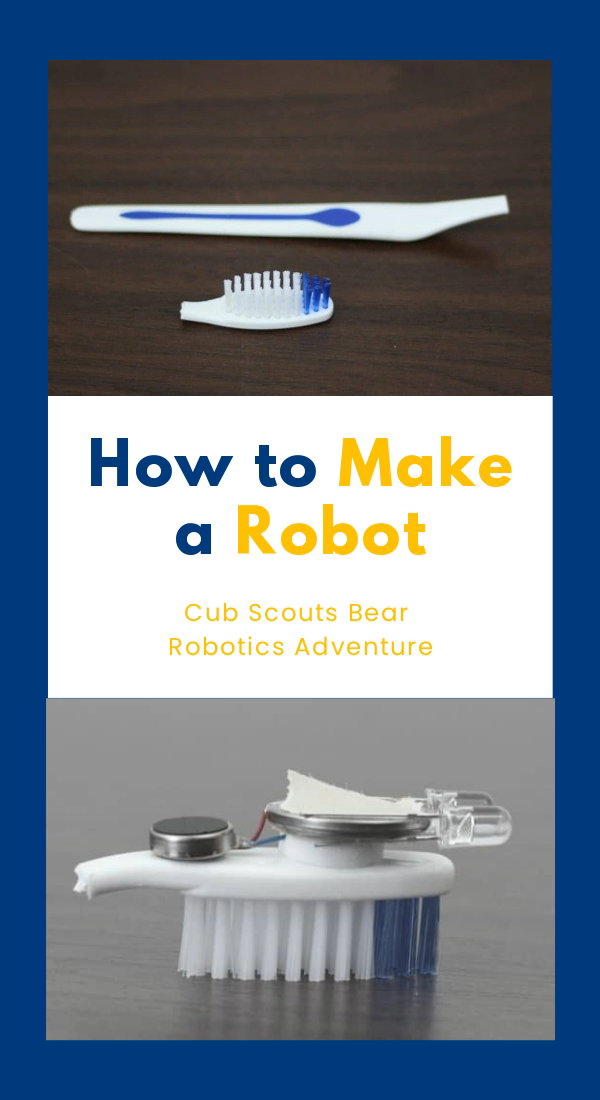 HOW TO MAKE A ROBOT for Cub Scouts #cubscouts