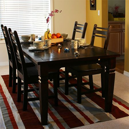 Paint Dining Table And Chairs With Rust Oleum Kona Brown You Can Use 2x To Lighten Or Darken Wood Furniture Still Allow The Grain Show