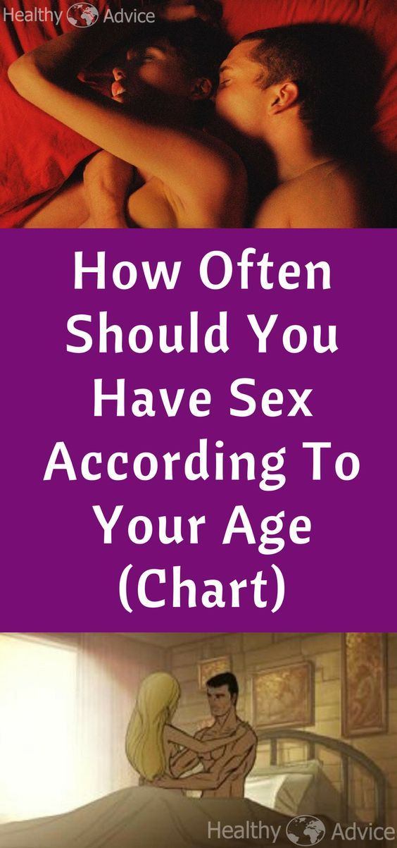 How often sex is healthy