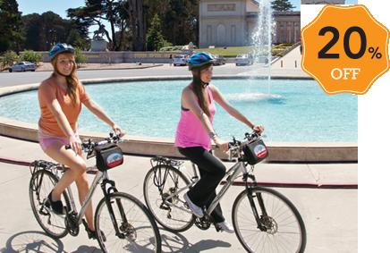 20 Off Bike Rentals Tours In San Francisco New York Blazing
