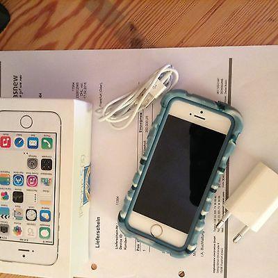 Apple iPhone 5s - 64GB - Gold (Ohne Simlock ...