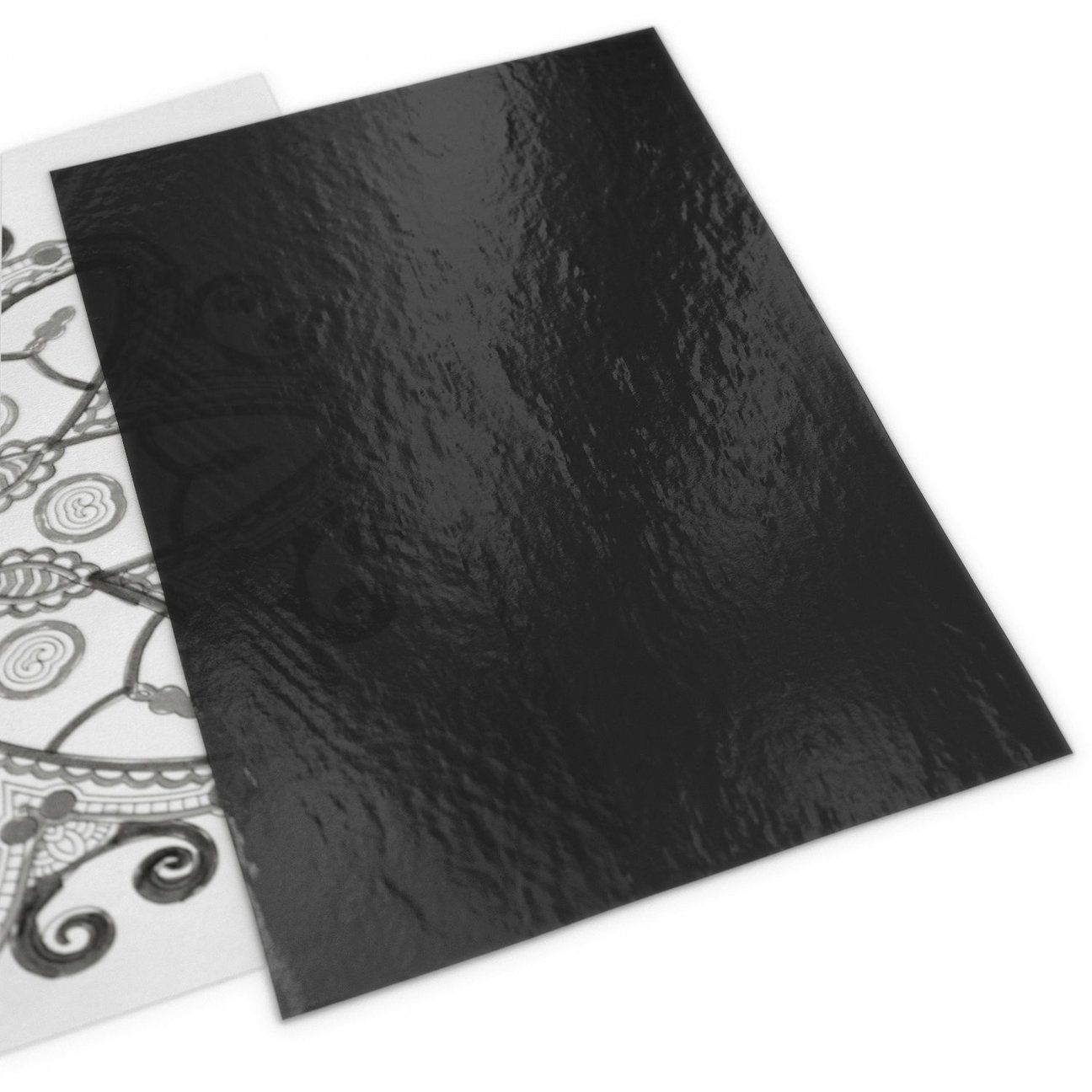 Graphite transfer paper 9 x 13 in 60 gray sheets