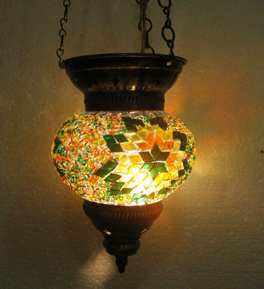 Turkische Mosaik Lampe Orientalische Lampe Handgemacht Lampe