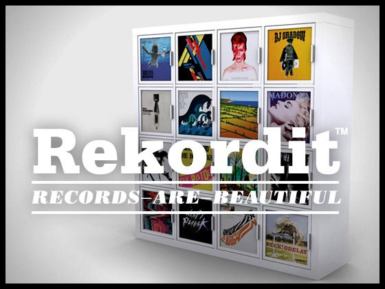 Rekordit™ Frame for inserting and displaying record sleeves, and is ...