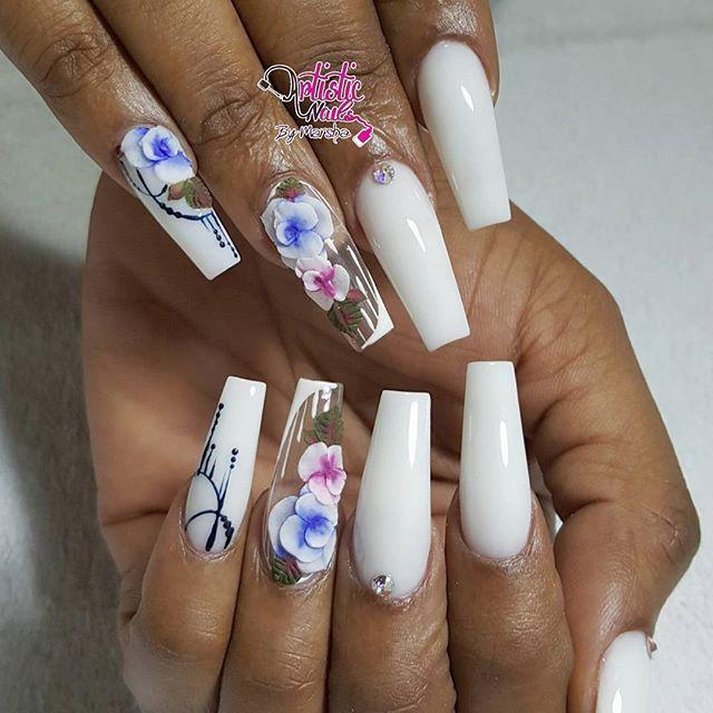 Pin de yohanna gonzalez en Uñas | Pinterest | Diseños de uñas, Uñas ...