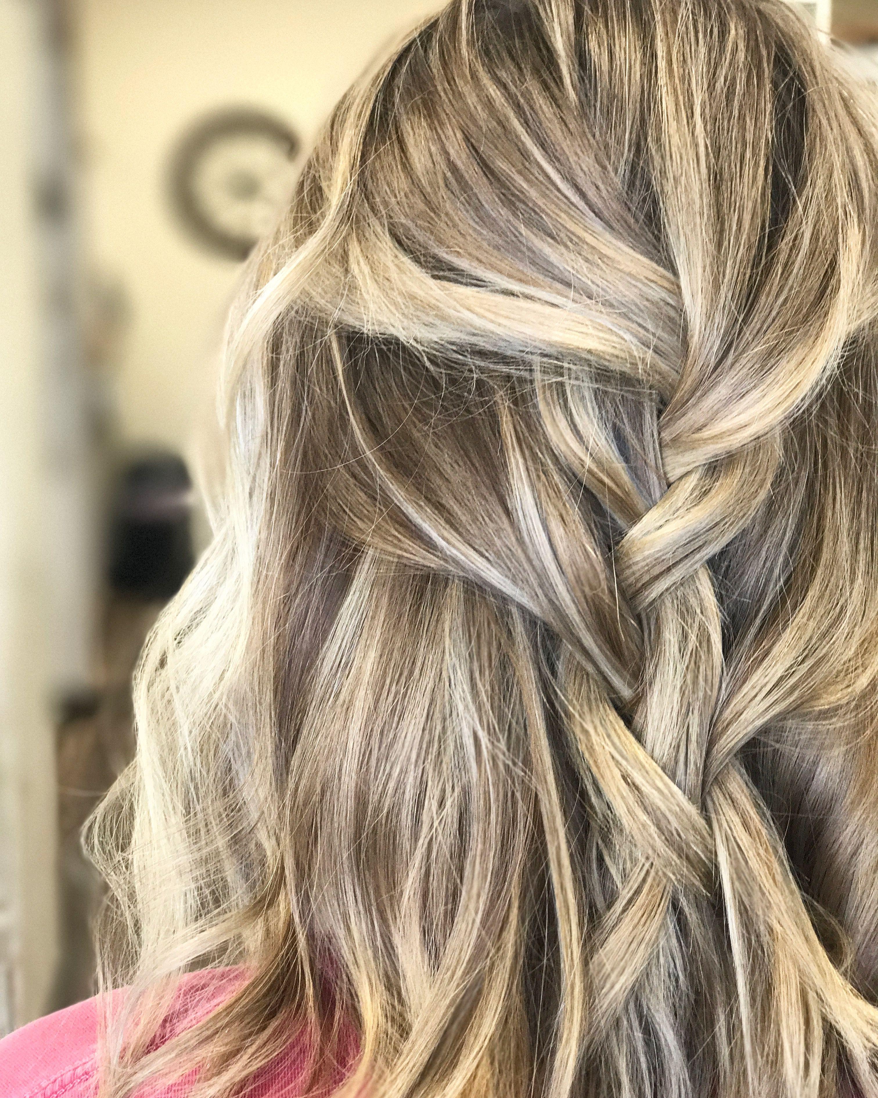 Boho Braided Blonde Balayage Laurenwoodhambeauty