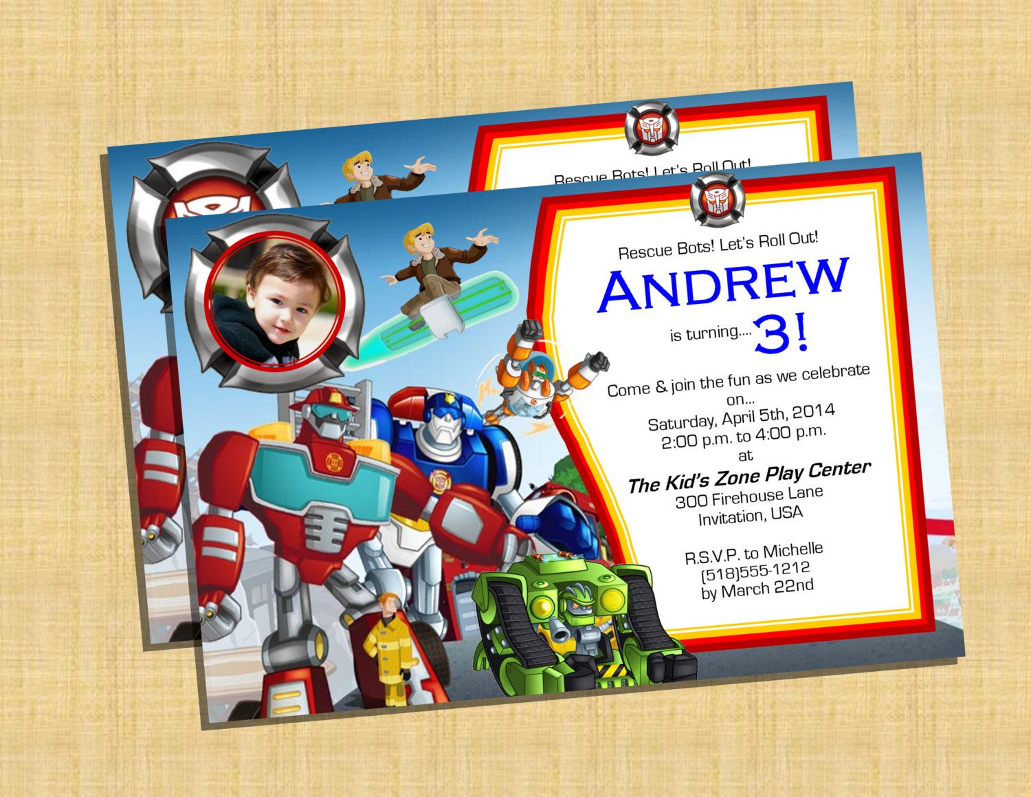 It is a photo of Divine Transformer Birthday Invitations Printable Free