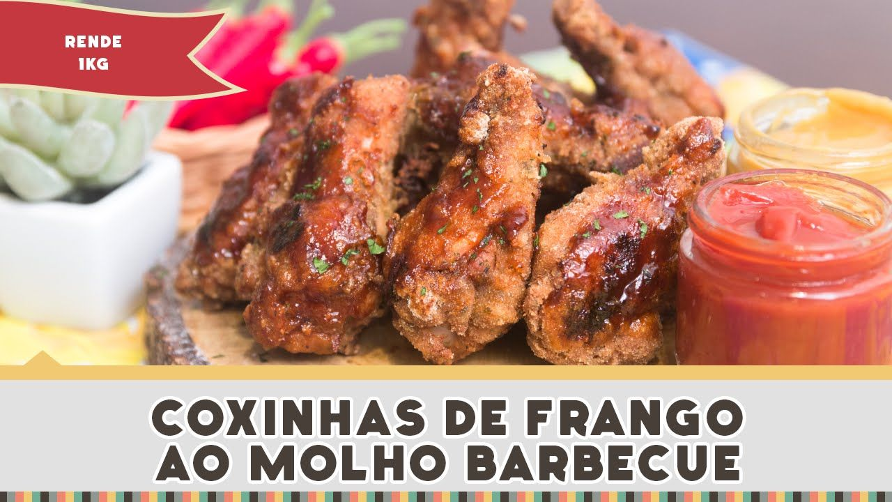 Coxinhas De Frango Ao Molho Barbecue Receitas De Minuto 243