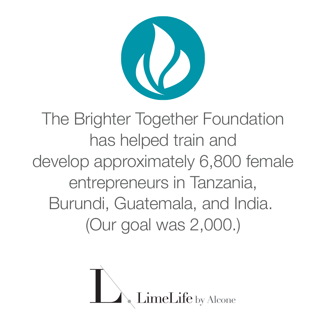 Limelife by Alcone Brighter Together Foundation