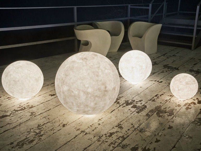 Popular Download the catalogue and request prices of nebulite floor lamp Ex moon Luna collection