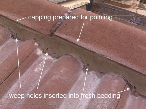 Bedding Pointing Roof Restoration Fresh Bedding Roofing