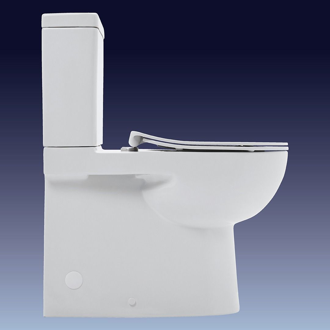 Fabulous Toledo Xtra Rimless Flush To Wall Toilet Suites Toilets Gmtry Best Dining Table And Chair Ideas Images Gmtryco