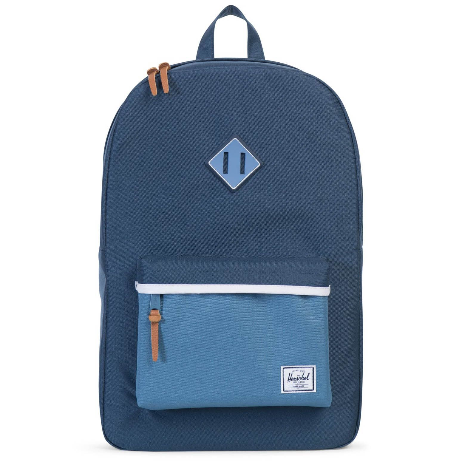 Herschel Supply Co. Heritage Backpack - Navy Captain s Blue White ... c951d04f1a07e