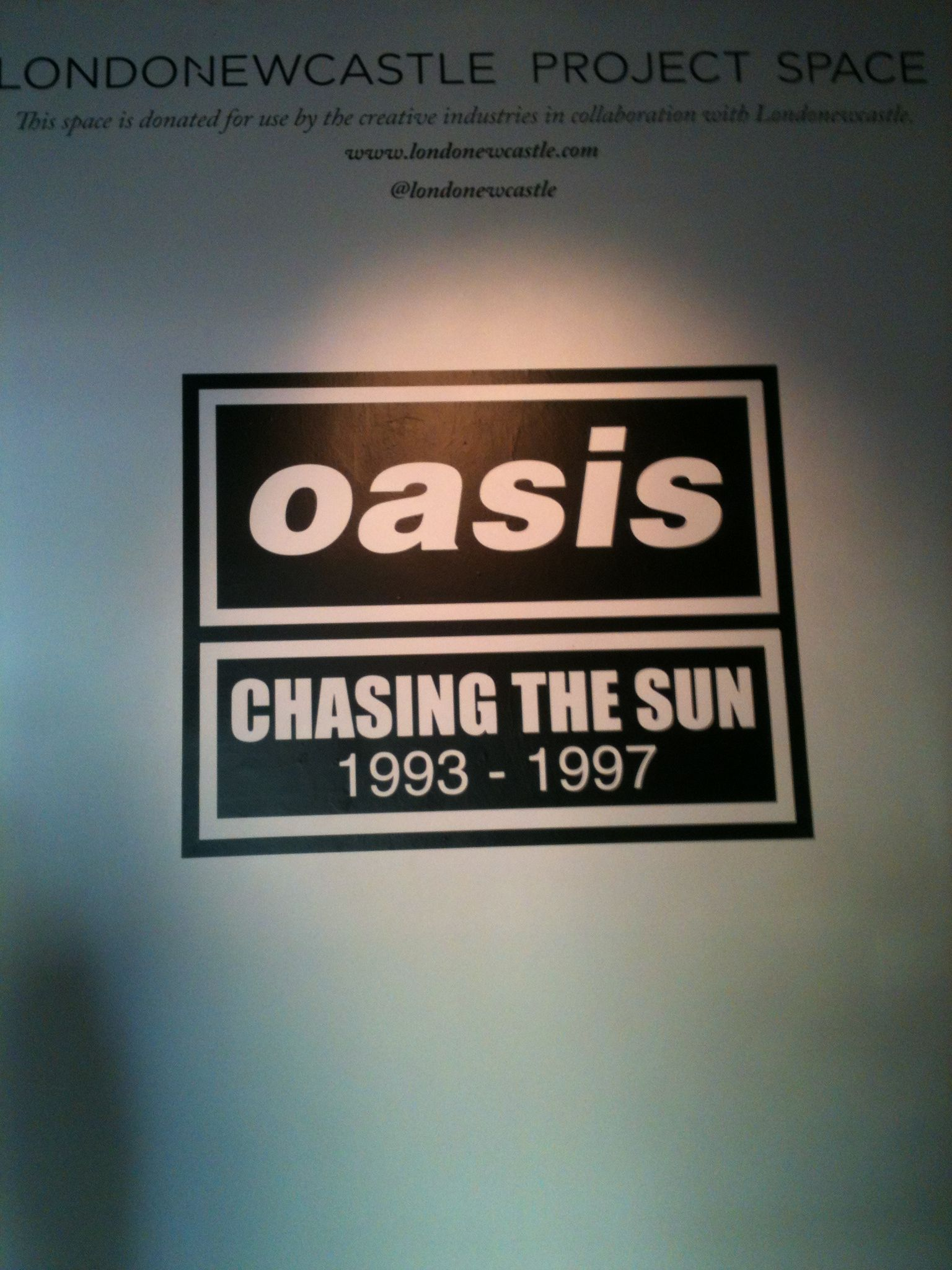 Oasis Chasing The Sun Exhibition 2014 Oasis Chasing The Sun Creative Industries