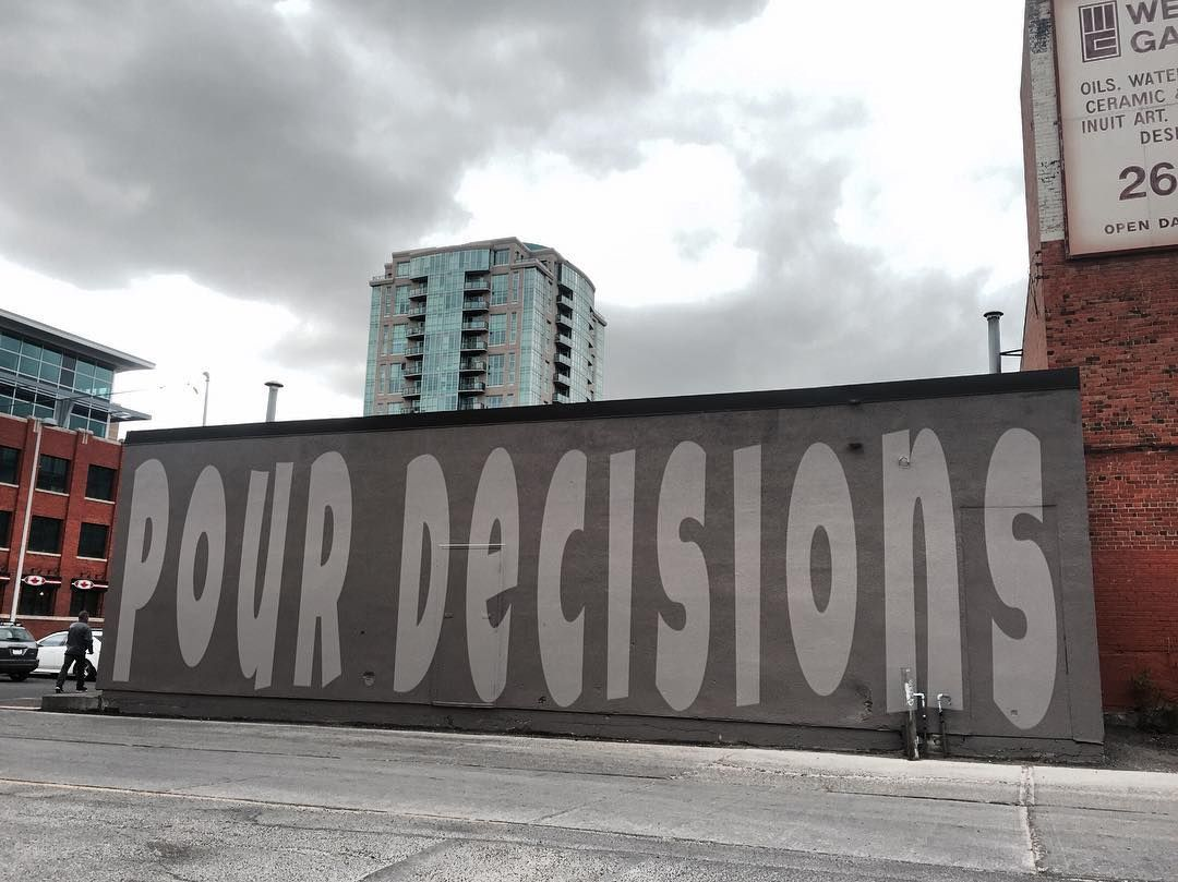Graffiti wall calgary - Pour Decisions Yyc Yycgraffiti Graffiti Calgary Calgarygraffiti Canada Pourdecisions