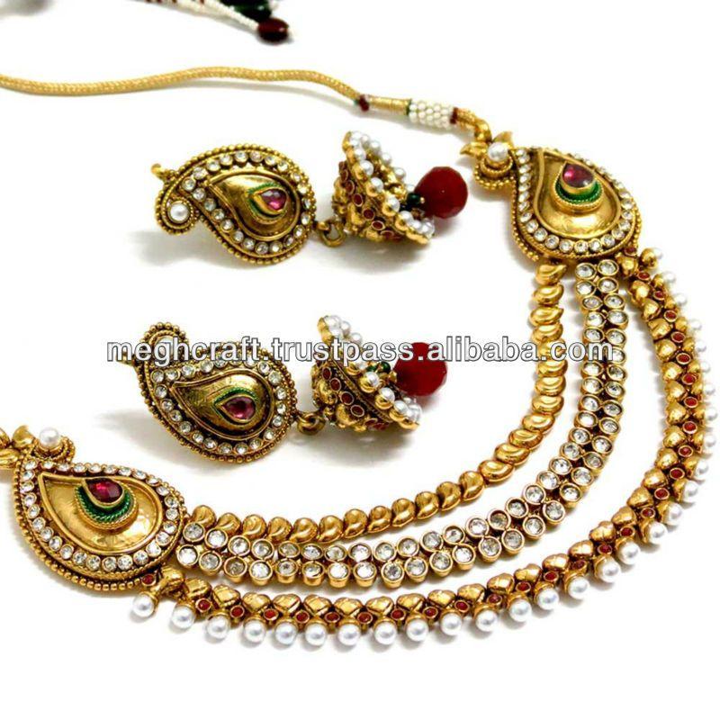 2013 latest design imitation jewelry indian ethnic