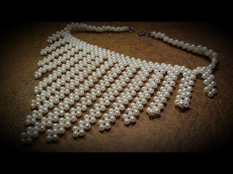 15b12e505cf20 Hermoso Collar con Perlas...Clase  155!!! - YouTube