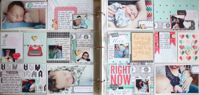 Using Project Life For A Baby Book By Shimelle Laine Shimelle