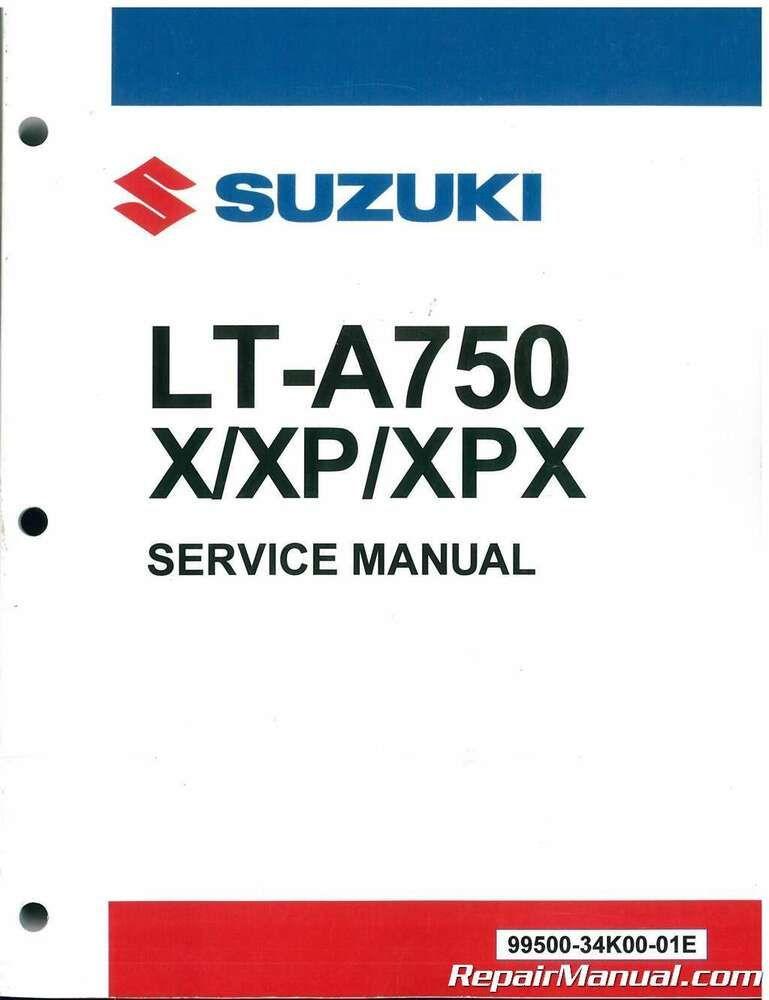 2019 Suzuki King Quad 750 Lt A750x Lt A750xp Atv Service Manual 99500 3 Manual Suzuki Cars Trucks