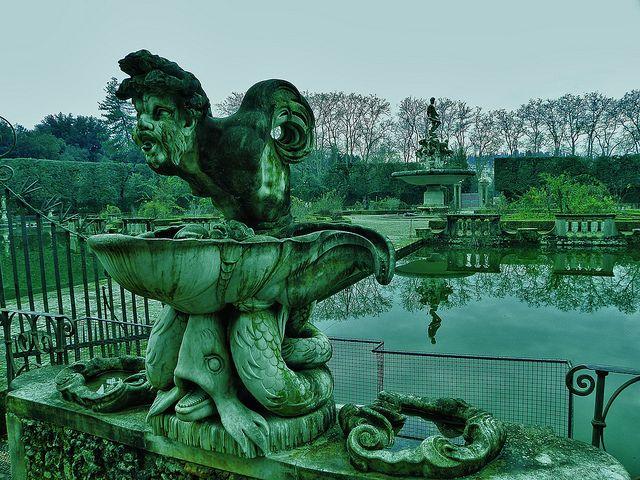 """Giardino di Boboli"" in Florence (by paolo dell'angelo, via Flickr)"